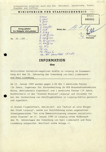 """Bericht zum Schweigemarsch der """"Initiative zur demokratischen Erneuerung unserer Gesellschaft"""" in Leipzig"""