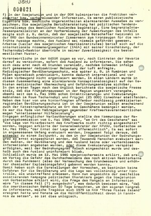 """""""Tschernobyl wirkt überall!"""" - Appell von Mitgliedern der Friedens- und Umweltbewegung in der DDR"""