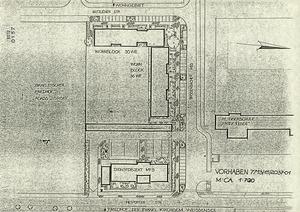 Information zum MfS-Bauvorhaben in der Wittlicher Straße mit Lageplan