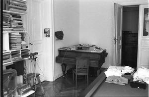 Konspirative Durchsuchung von Wolf Biermanns Wohnung