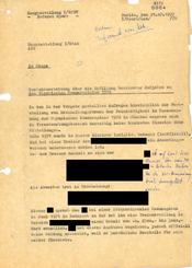 Berichterstattung über die Erfüllung bestimmter Aufgaben zu den Olympischen Sommerspielen 1972