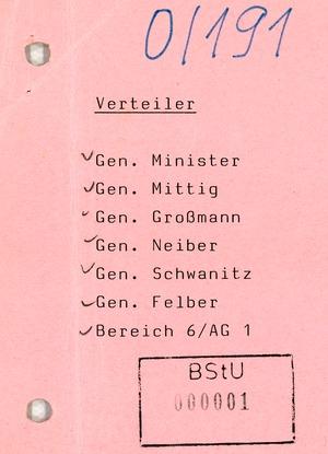 Reaktion der Bevölkerung auf das SED-SPD-Grundsatzpapier
