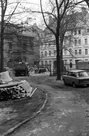 Beobachtung der Umgebung der Sophienkirche in Berlin