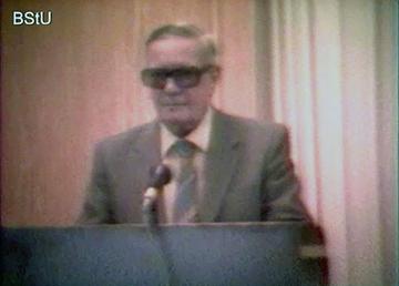 """Podiumsveranstaltung mit Kim Philby in """"Haus 22"""" der Stasi-Zentrale (1)"""