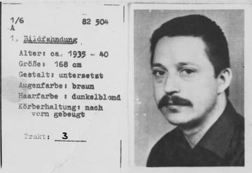 Fahndungsbild mit Kurzauskunft zu Wolf Biermann