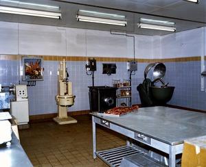 """Innenaufnahmen aus dem """"Dienstleistungs- und Versorgungstrakt"""" der Stasi-Zentrale"""
