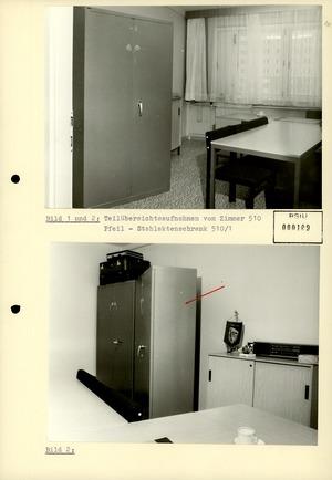 Bildbericht zum Diebstahl von geheimen Unterlagen durch Werner Stiller