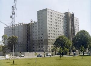 """Bau von """"Haus 15"""" in der Stasi-Zentrale"""