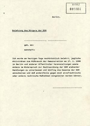 Schreiben an alle Diensteinheiten zu den Aktivitäten der AG Staatsbürgerschaftsrecht