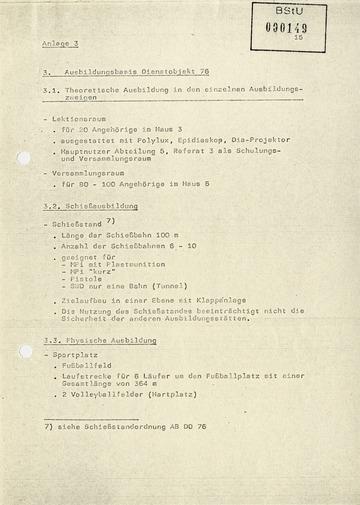 """Ausbildungsmöglichkeiten im """"Objekt 76"""" in Helenenau"""