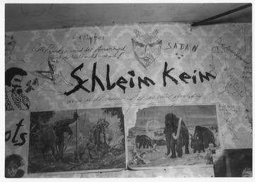 Proberaum der Punkband Schleimkeim in Stotternheim bei Erfurt