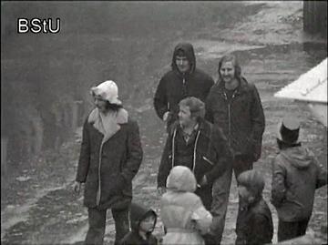 """Überwachungsvideo von """"Kunden"""" auf dem Wasunger Karneval"""