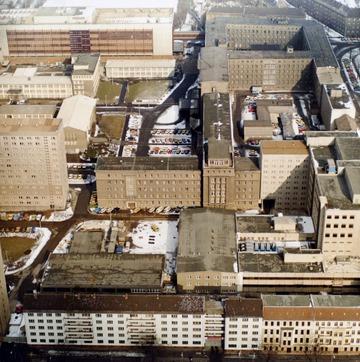 Luftbildaufnahmen der Stasi-Zentrale