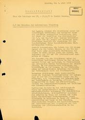 Gesamtübersicht über die Ereignisse in den Tagen um den 17. Juni 1953 im Bezirk Dresden