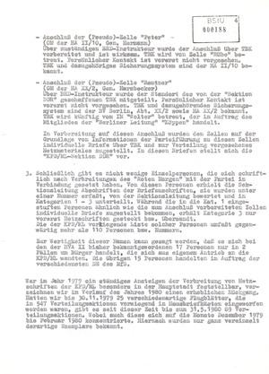 """Sachstandsbericht OV """"Stachel"""" gegen die KPD/ML - Sektion DDR"""